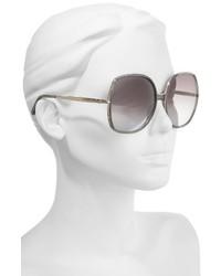 16051495de ... Chloé Chloe 62mm Oversized Gradient Lens Square Sunglasses ...