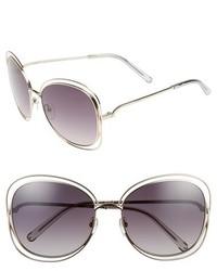 Chloé Chloe Carlina 60mm Gradient Les Sunglasses