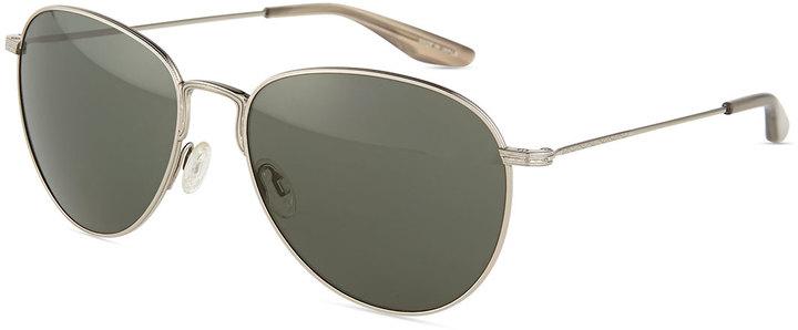 Barton Perreira Cruisaire Metal Aviator Sunglasses Vintage Gray ...