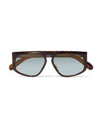 Givenchy D Frame Tortoiseshell Acetate Sunglasses