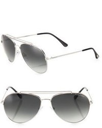 Tom Ford Eyewear Indiana 58mm Aviator Sunglasses
