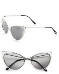 Tom Ford Eyewear Nastasya Metal Cats Eye Sunglasses