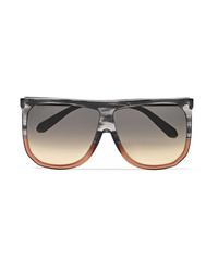 Loewe Filipa Two Tone D Frame Acetate Sunglasses