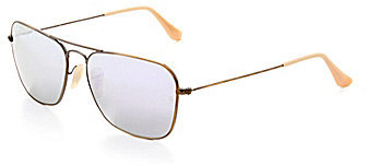 Ray-Ban Flash Mirror Caravan Aviator Sunglasses