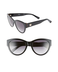 Max Mara Flat Iii 55mm Cat Eye Sunglasses