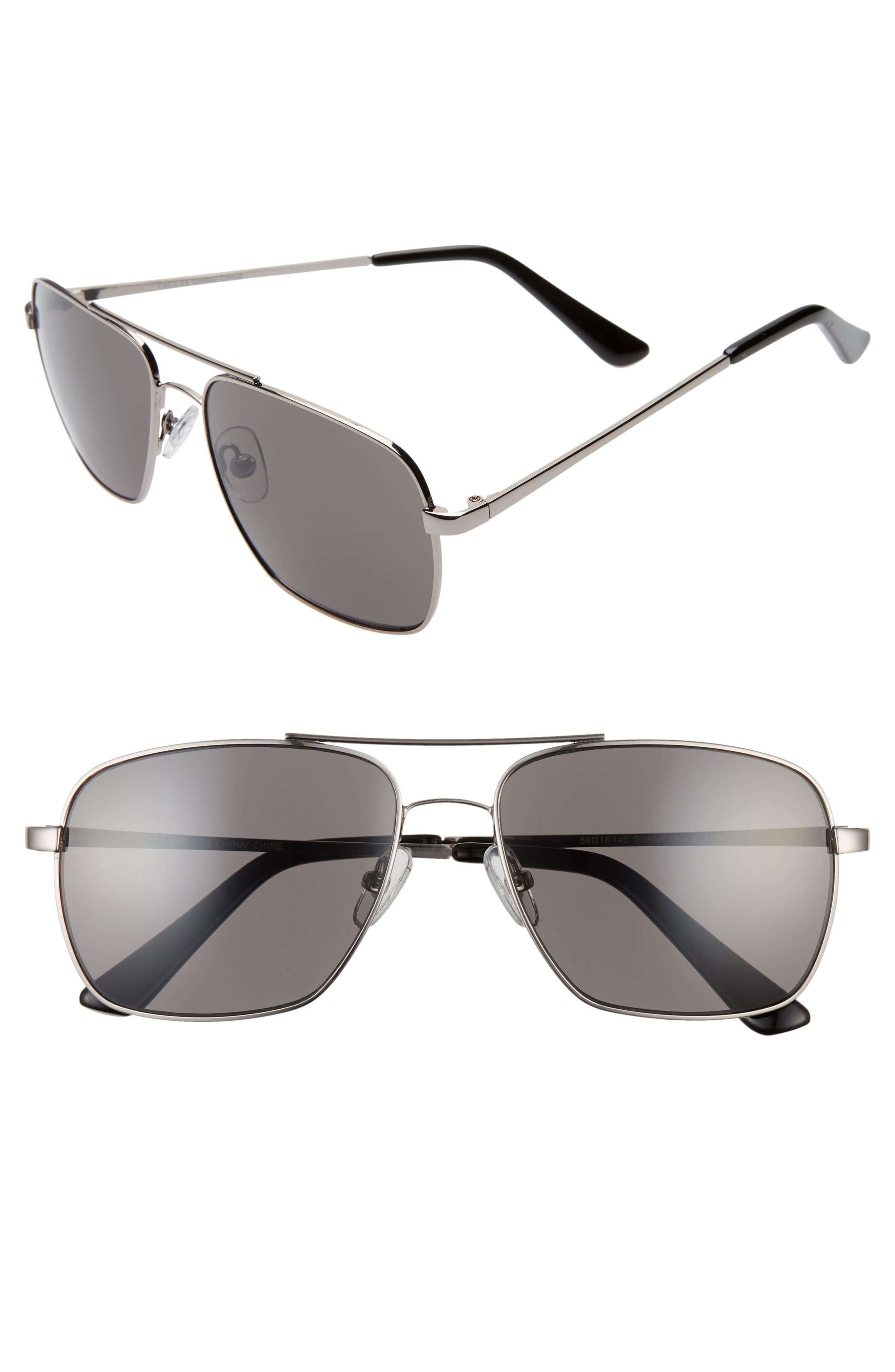 BP. James 58mm Navigator Sunglasses