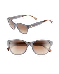 Max Mara Leisure 55mm Cat Eye Sunglasses