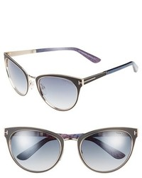 Tom Ford Nina 56mm Sunglasses
