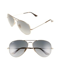 Ray-Ban Org Aviator 62mm Sunglasses