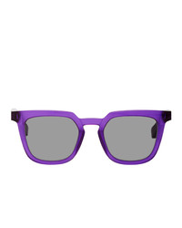 Maison Margiela Purple Mykita Edition Mmraw008 Square Sunglasses