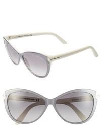 Tom Ford Telma 60mm Cat Eye Sunglasses