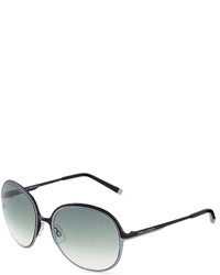 Dsquared2 Two Tone Round Metal Sunglasses Blackgray