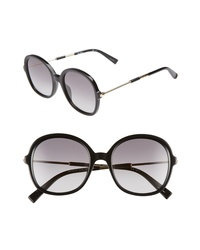 Max Mara Wand Iii 53mm Round Sunglasses