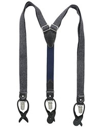 Tommy Hilfiger 25 Mm Fabric Tubular With Signature Stripe Tabs Suspenders