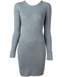 Alexander Wang Ribbed Sweater Dress