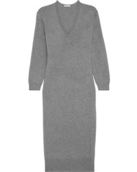 Tomas Maier Cashmere Sweater Dress Gray