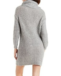 Charlotte Russe Slouchy Turtleneck Sweater Dress | Where to buy ...