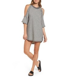 Cold shoulder sweatshirt dress medium 5169925