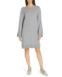 Vince Cotton Terry Shift Dress