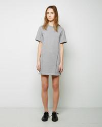 3.1 Phillip Lim Crepe De Chine Seamlines Sweatshirt Dress