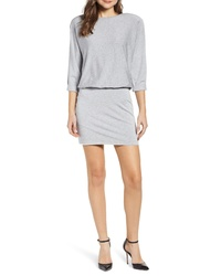 Bailey 44 Cuddled Up Blouson Fleece Sweatshirt Dress