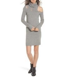 Destroyed turtleneck sweater dress medium 6711049