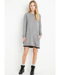Forever 21 Drawstring Sweatshirt Dress