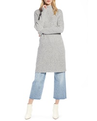 Halogen Funnel Neck Sweater Dress