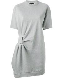 Gathered detail sweatshirt dress medium 335491