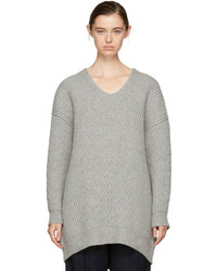 Acne Studios Grey Deka Sweater Dress