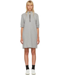 Marc Jacobs Grey Zip Sweatshirt Dress