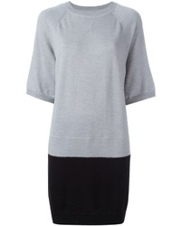 MM6 MAISON MARGIELA Colour Block Sweater Dress