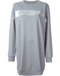 MM6 MAISON MARGIELA Foil Print Sweatshirt Dress
