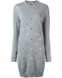 No.21 No21 Embellished Sweater Dress