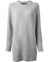 Proenza Schouler Check Knit Sweater Dress