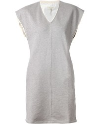 Rag and Bone Rag Bone V Neck Sweatshirt Dress