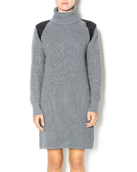 525 America Ribbed Sweater Dress