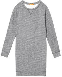 Joe Fresh Sweatshirt Dress Navy Mix