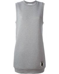 Alexander Wang T By Eyelet Detail Sweatshirt Dress
