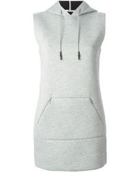 Alexander Wang T By Hooded Sweatshirt Dress