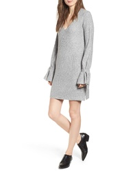 Cupcakes And Cashmere Tie Sleeve Sweater Dress