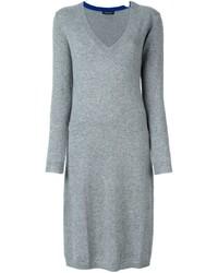 Twin-Set V Neck Sweater Dress