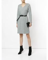 Han Ahn Soon V Neck Jersey Dress