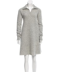 Balenciaga Wool Oversize Sweater Dress