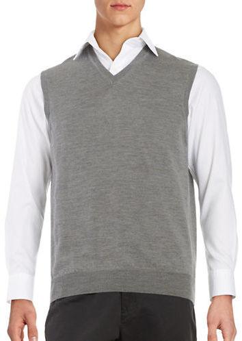 Black & Brown Black Brown Merino Wool Sweater Vest | Where to buy ...