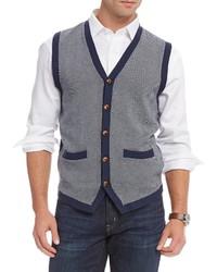 Daniel Cremieux Cremieux Herringbone Sweater Vest