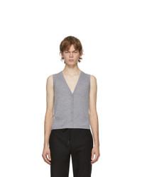 Dion Lee Grey Wool Vest