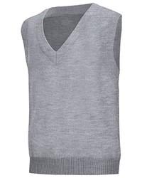 Classroom School Uniforms Plus Size Adult Unisex V Neck Sweater Vest