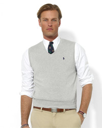 Mens Grey Sweater Vests By Polo Ralph Lauren Mens Fashion