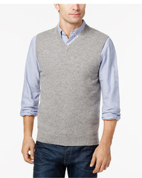 Club Room V Neck Cashmere Sweater Vest Created For Macys